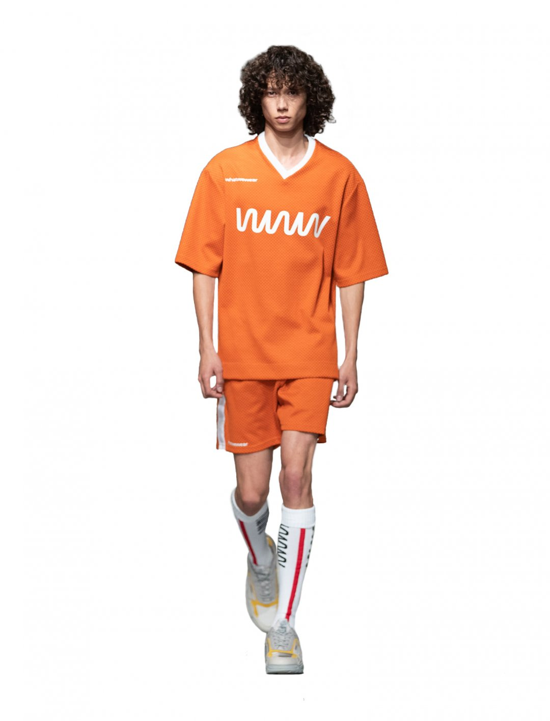 """Not3s' Orange T-Shirt & Shorts Set {""""id"""":5,""""product_section_id"""":1,""""name"""":""""Clothing"""",""""order"""":5} What We Wear"""