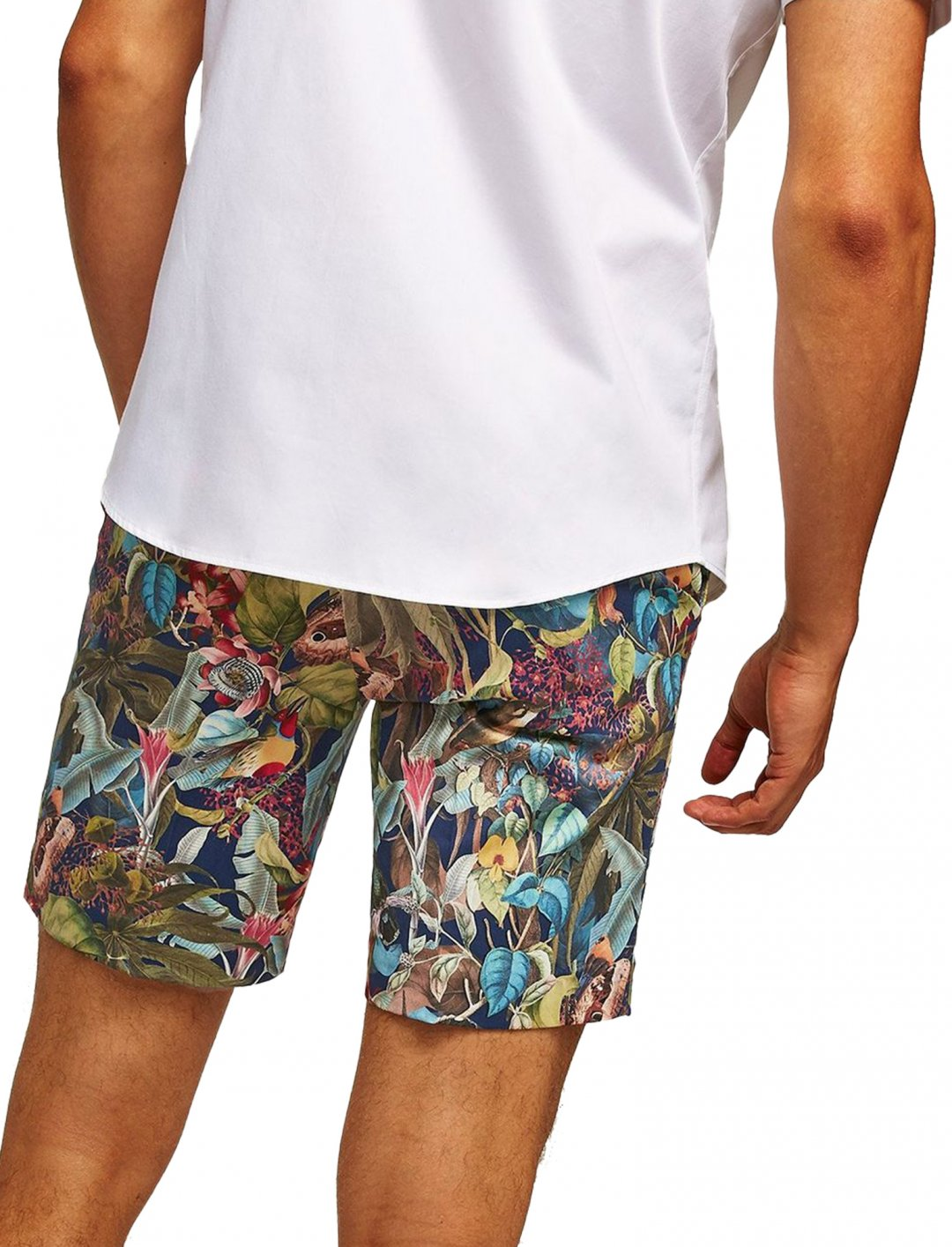 """Topman Jungle Printed Shorts {""""id"""":5,""""product_section_id"""":1,""""name"""":""""Clothing"""",""""order"""":5} Topman"""