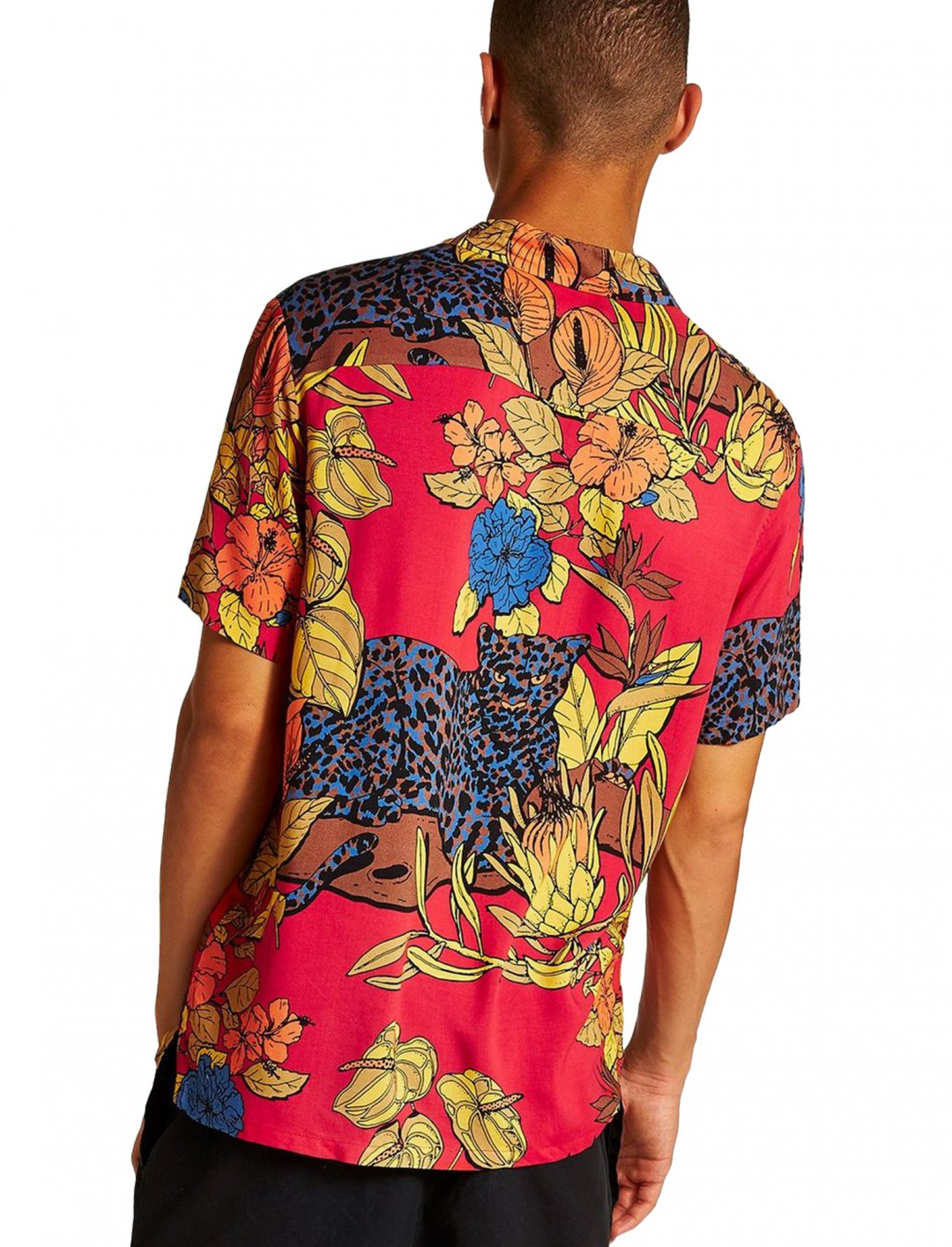 """Topman Short Sleeve Shirt {""""id"""":5,""""product_section_id"""":1,""""name"""":""""Clothing"""",""""order"""":5} Topman"""