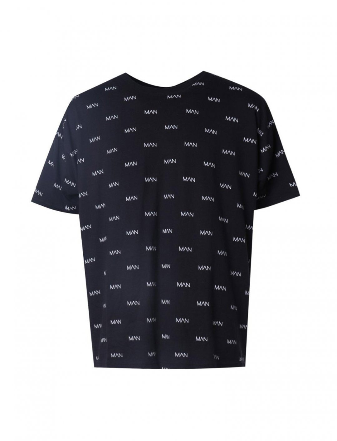 """BoohooMAN All Over Print T-Shirt {""""id"""":5,""""product_section_id"""":1,""""name"""":""""Clothing"""",""""order"""":5} BoohooMAN"""