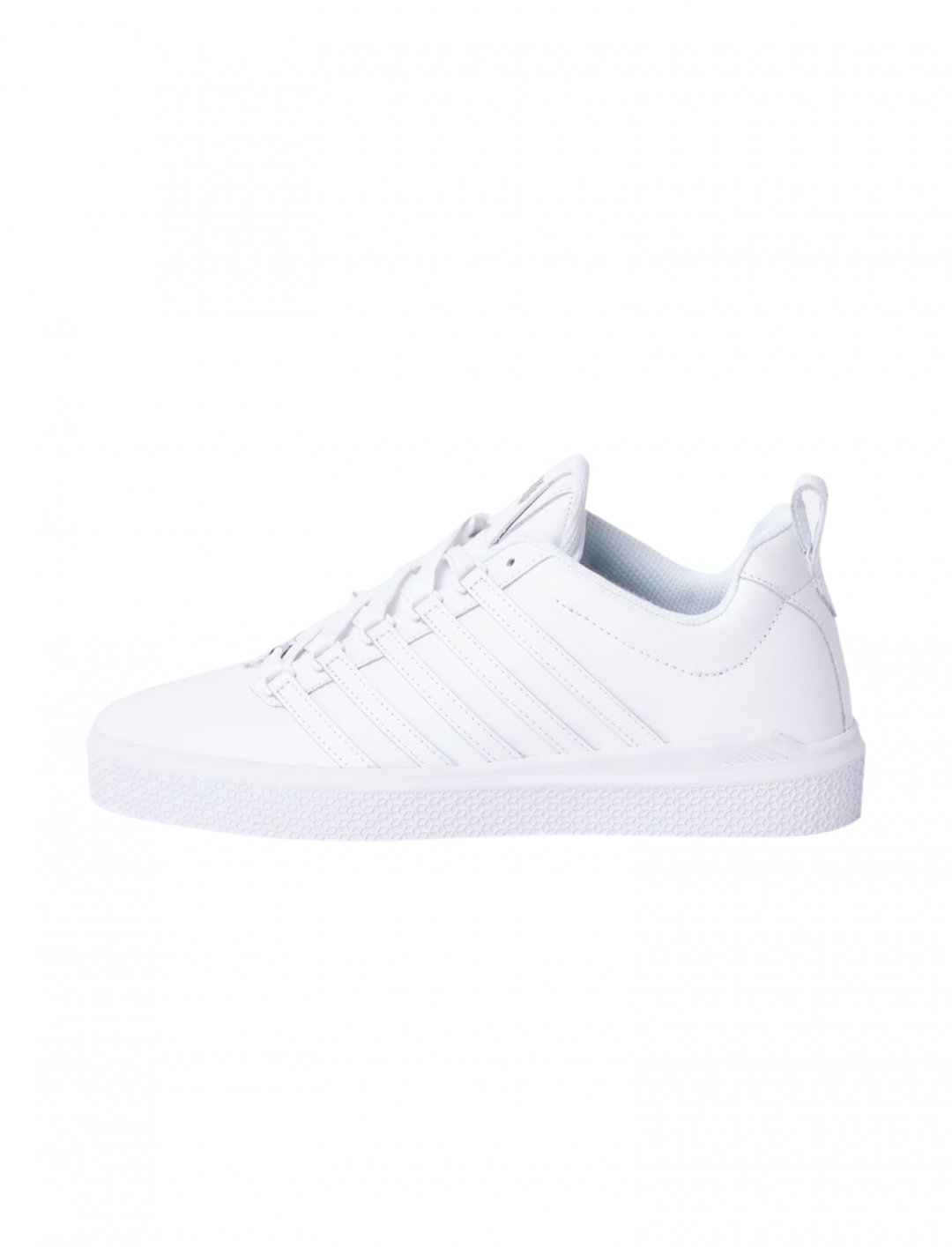 "K-Swiss Leather Trainers {""id"":12,""product_section_id"":1,""name"":""Shoes"",""order"":12} K-Swiss"