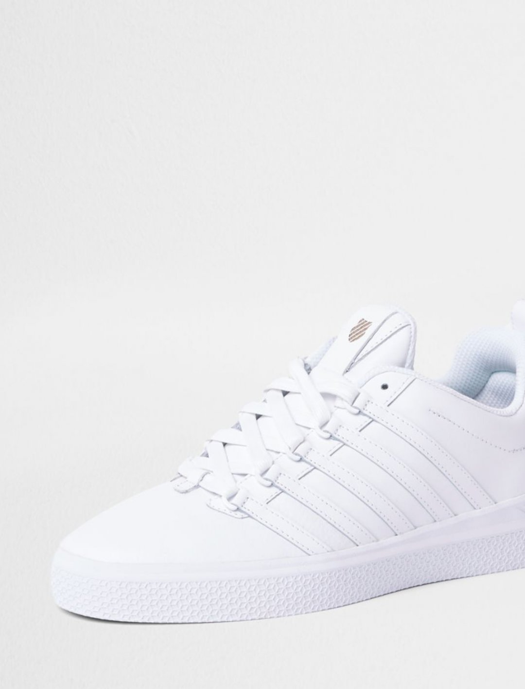"""K-Swiss Leather Trainers {""""id"""":12,""""product_section_id"""":1,""""name"""":""""Shoes"""",""""order"""":12} K-Swiss"""