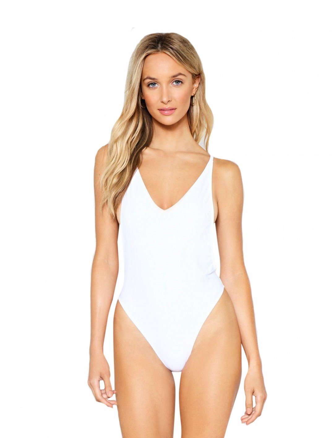 """Nasty Gal High-Leg Swimsuit {""""id"""":5,""""product_section_id"""":1,""""name"""":""""Clothing"""",""""order"""":5} Nasty Gal"""