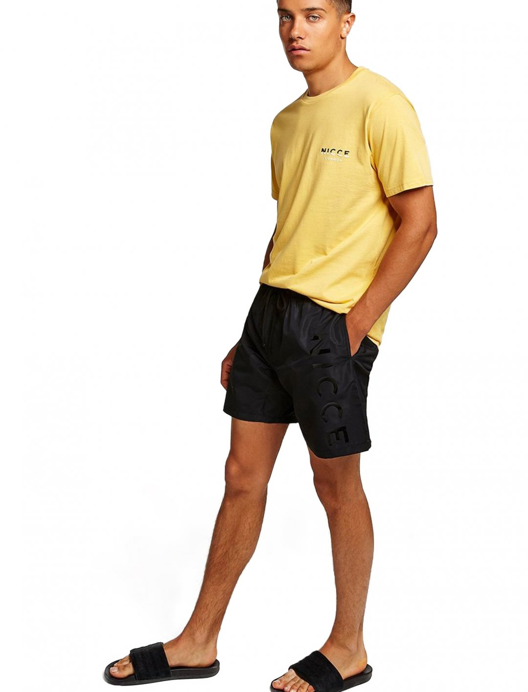 "Nicce Swim Shorts {""id"":5,""product_section_id"":1,""name"":""Clothing"",""order"":5} Nicce"