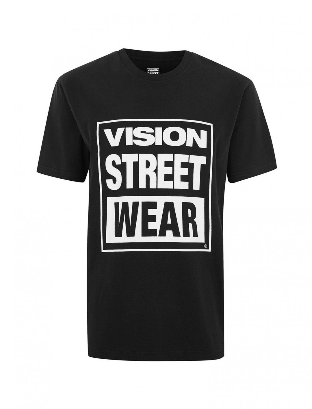 "Vision Black Essential T-Shirt {""id"":5,""product_section_id"":1,""name"":""Clothing"",""order"":5} Vision Street Wear"