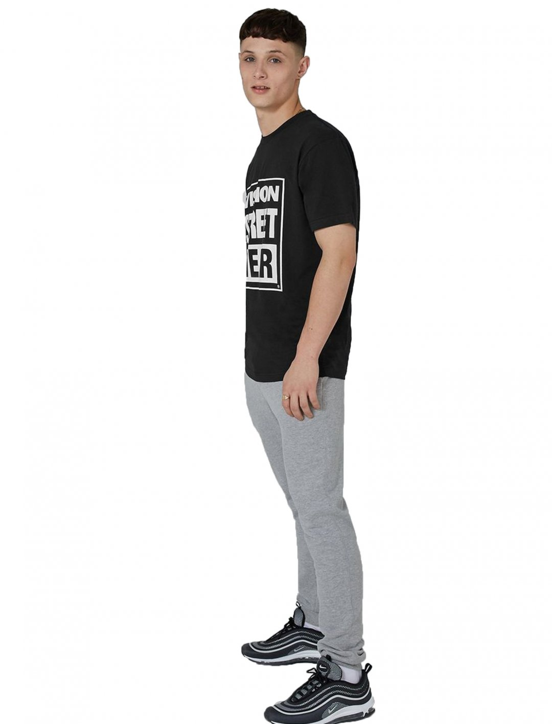 """Vision Black Essential T-Shirt {""""id"""":5,""""product_section_id"""":1,""""name"""":""""Clothing"""",""""order"""":5} Vision Street Wear"""