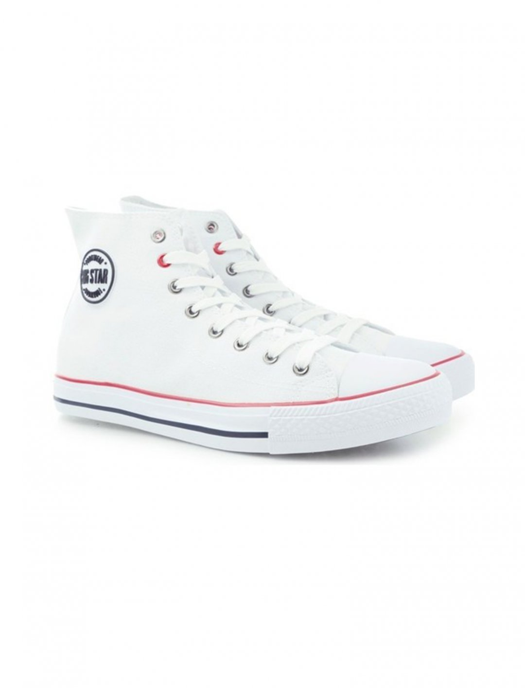 "Big Star White Trainers {""id"":12,""product_section_id"":1,""name"":""Shoes"",""order"":12} Big Star"