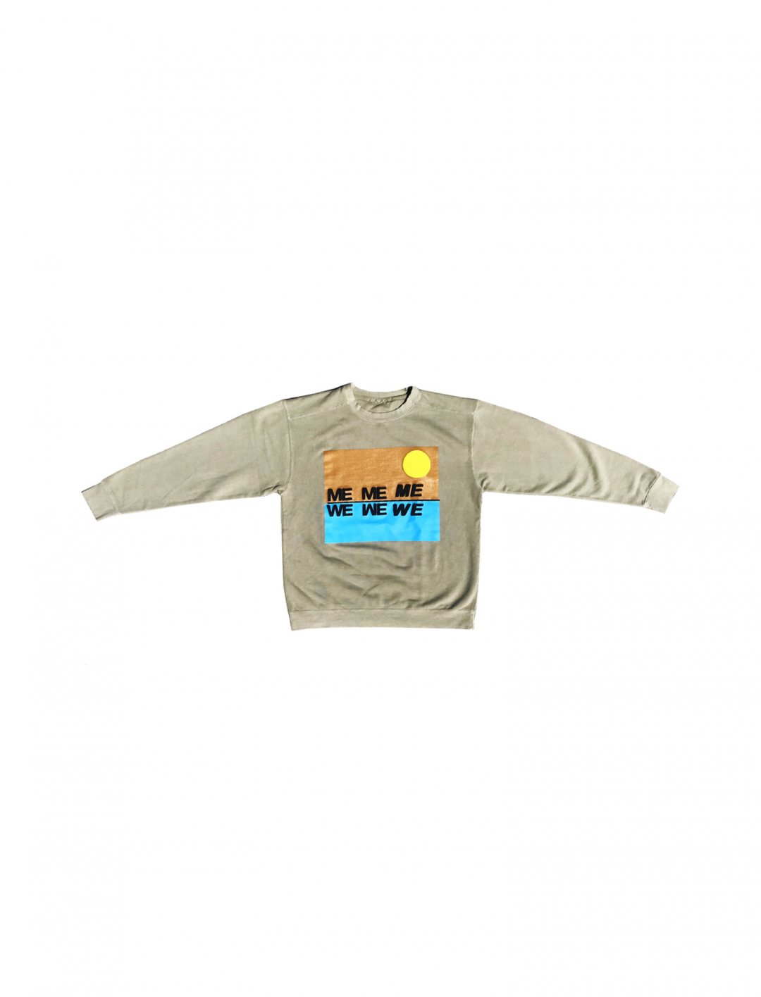 "Me 2 WE Crewneck Sweatshirt {""id"":5,""product_section_id"":1,""name"":""Clothing"",""order"":5} Cactus Plant Flea Market"
