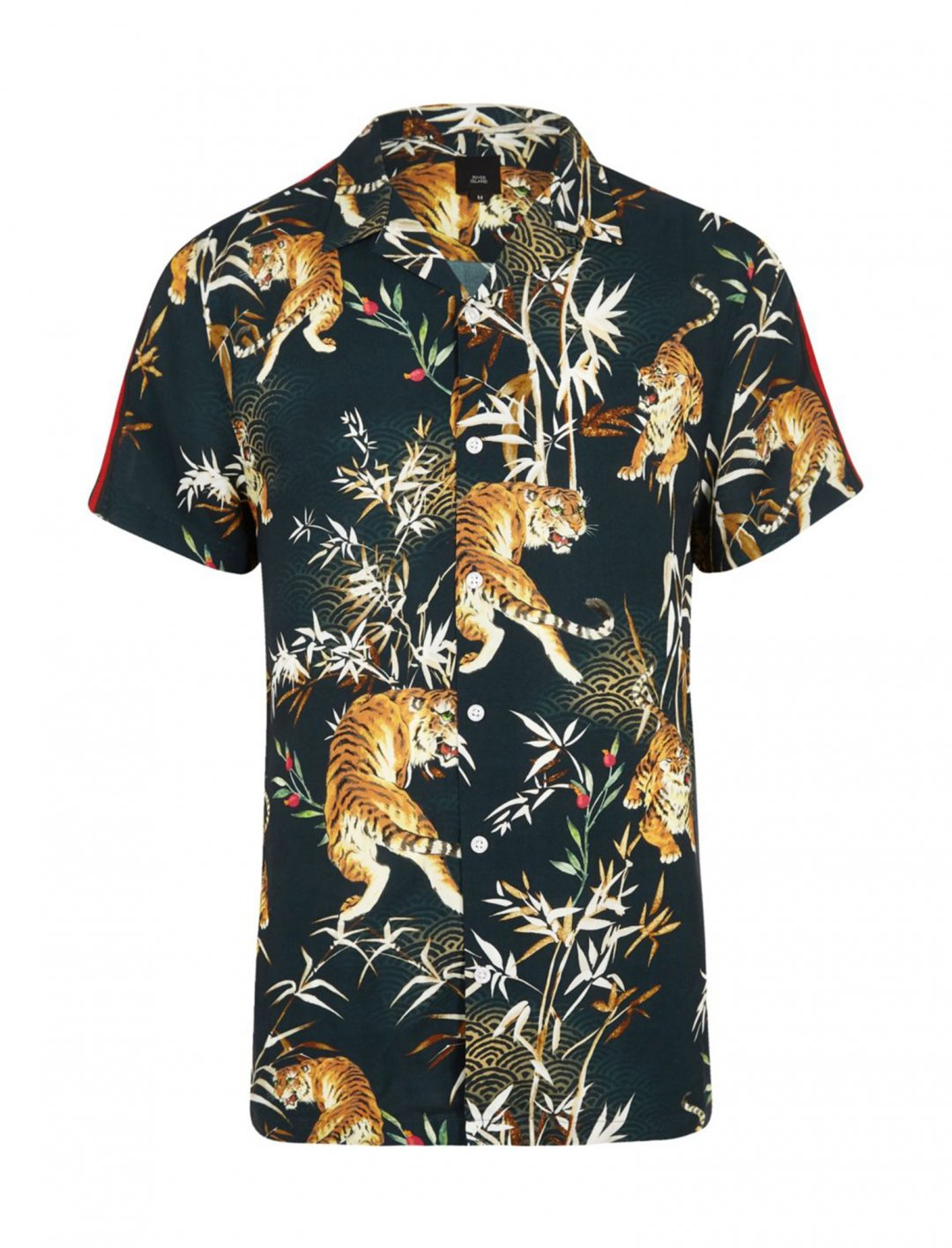 "River Island Tiger Print Shirt {""id"":5,""product_section_id"":1,""name"":""Clothing"",""order"":5} River Island"