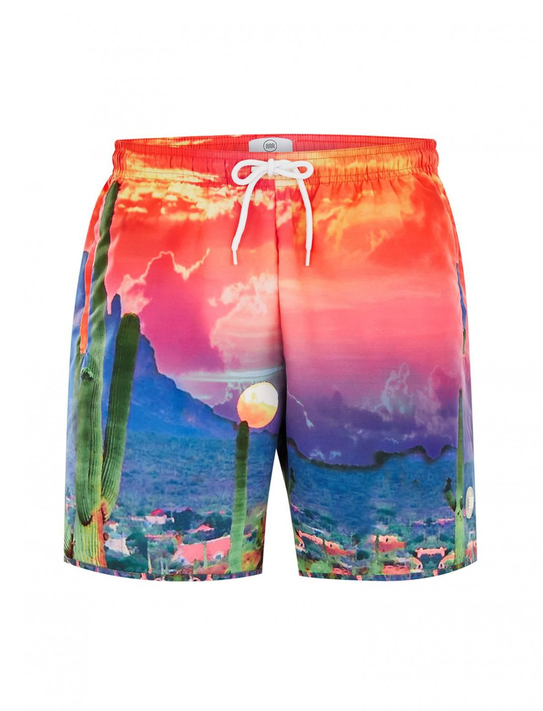 "Topman Cactus Scene Board Shorts {""id"":5,""product_section_id"":1,""name"":""Clothing"",""order"":5} Topman"
