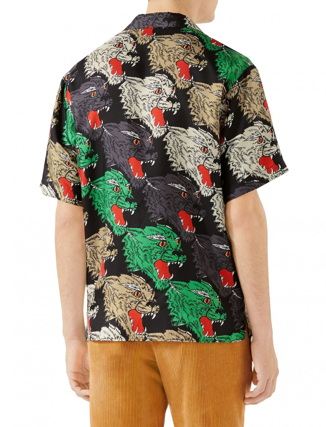 "Ty Dolla $ign's Panther Print Shirt {""id"":5,""product_section_id"":1,""name"":""Clothing"",""order"":5} Gucci"