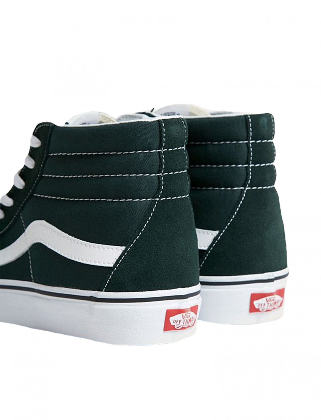 "Vans Sk8-Hi Green Trainers {""id"":12,""product_section_id"":1,""name"":""Shoes"",""order"":12} Vans"