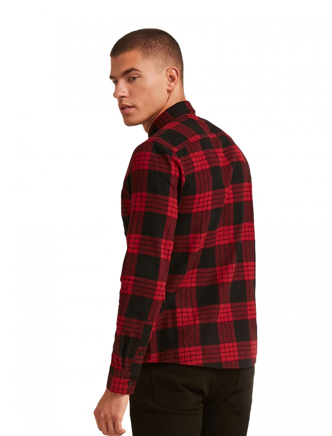 """Check Flannel Shirt {""""id"""":5,""""product_section_id"""":1,""""name"""":""""Clothing"""",""""order"""":5} Forever 21"""