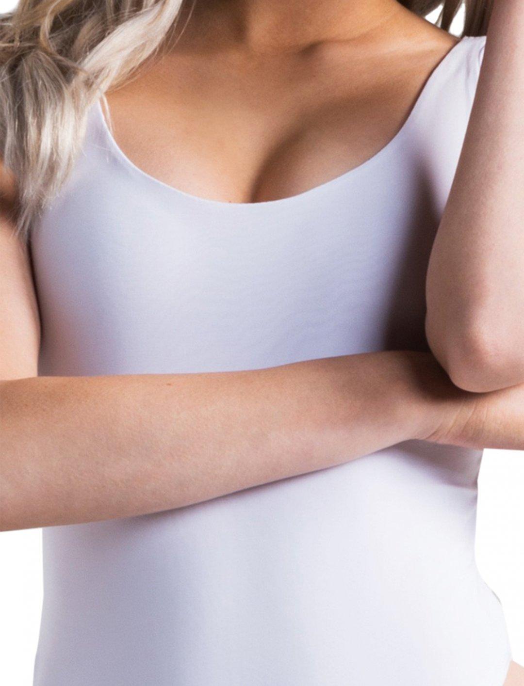 "Leslie Grace's White Bodysuit {""id"":5,""product_section_id"":1,""name"":""Clothing"",""order"":5} AKIRA"