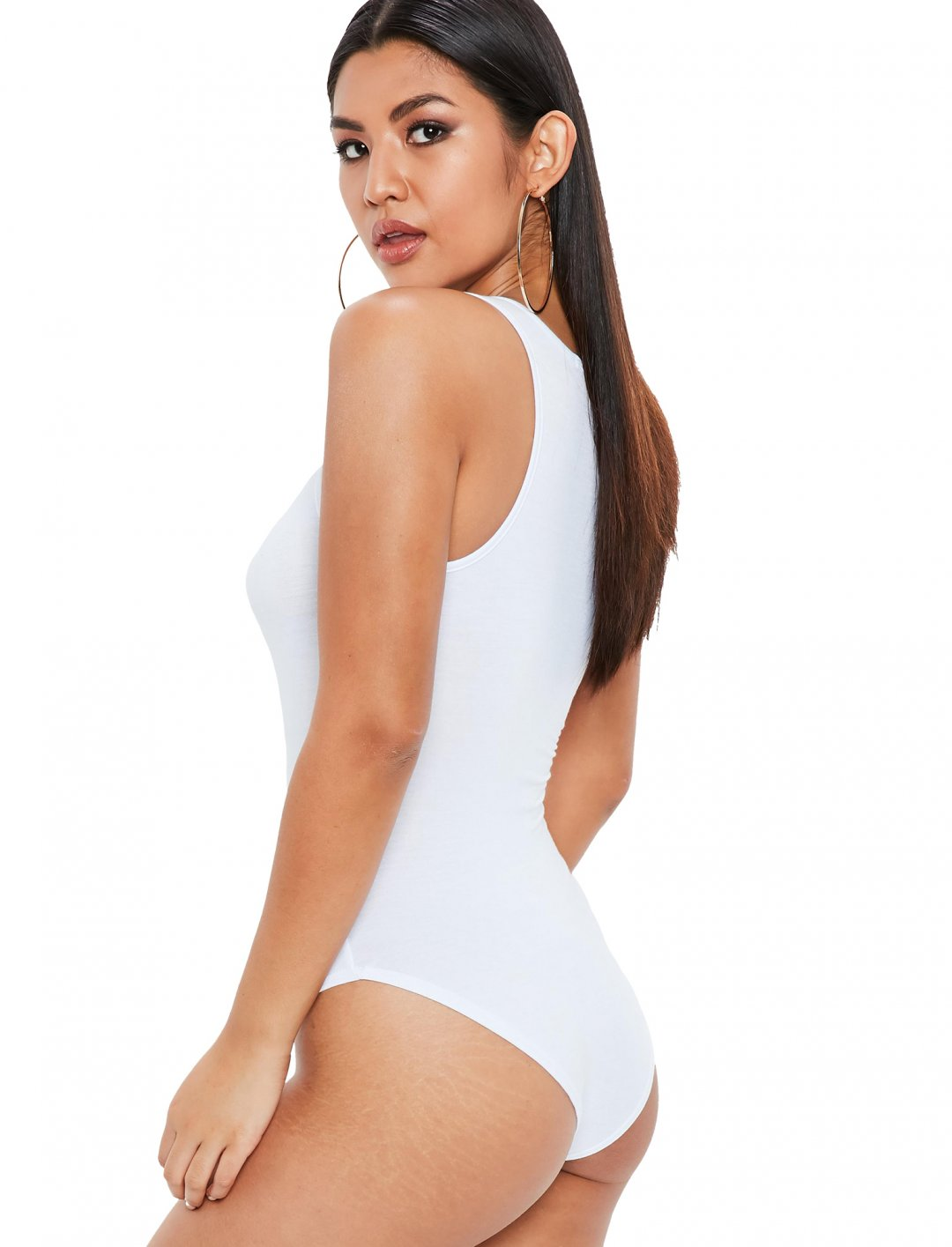 """Racer Bodysuit {""""id"""":5,""""product_section_id"""":1,""""name"""":""""Clothing"""",""""order"""":5} Missguided"""