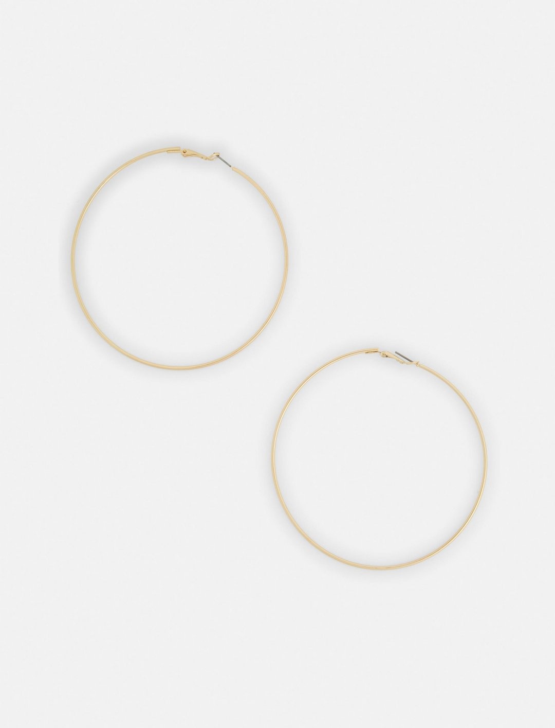 """Silver Hoop Earrings {""""id"""":10,""""product_section_id"""":1,""""name"""":""""Jewellery"""",""""order"""":10} Missguided"""