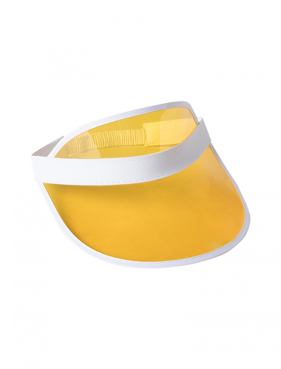 """Yellow Clear VIsor {""""id"""":5,""""product_section_id"""":1,""""name"""":""""Clothing"""",""""order"""":5} AKIRA"""