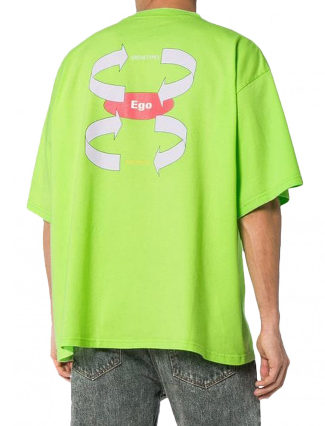 "Calvin Harris' Green T-Shirt {""id"":5,""product_section_id"":1,""name"":""Clothing"",""order"":5} Balenciaga"