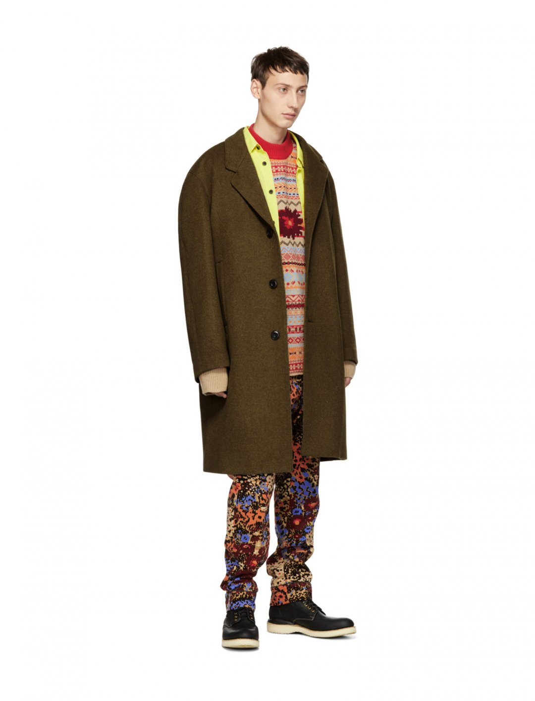 "Calvin Harris' Multicolour Trousers {""id"":5,""product_section_id"":1,""name"":""Clothing"",""order"":5} Sacai"