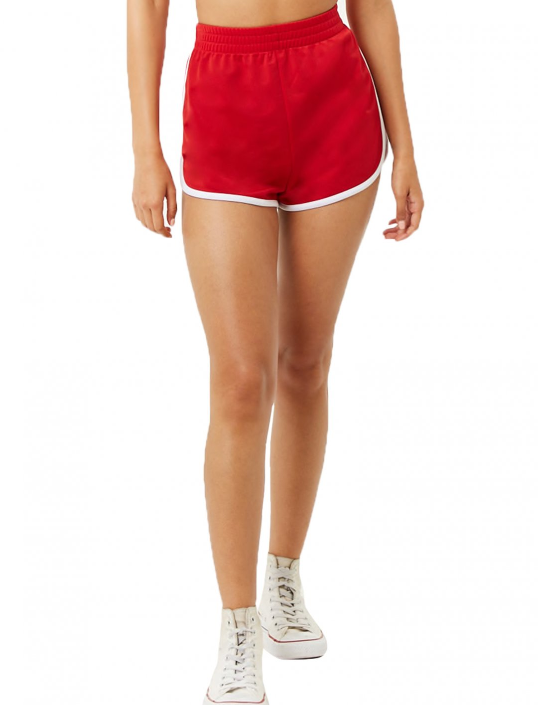 "Contrast Trim Shorts {""id"":5,""product_section_id"":1,""name"":""Clothing"",""order"":5} Forever 21"