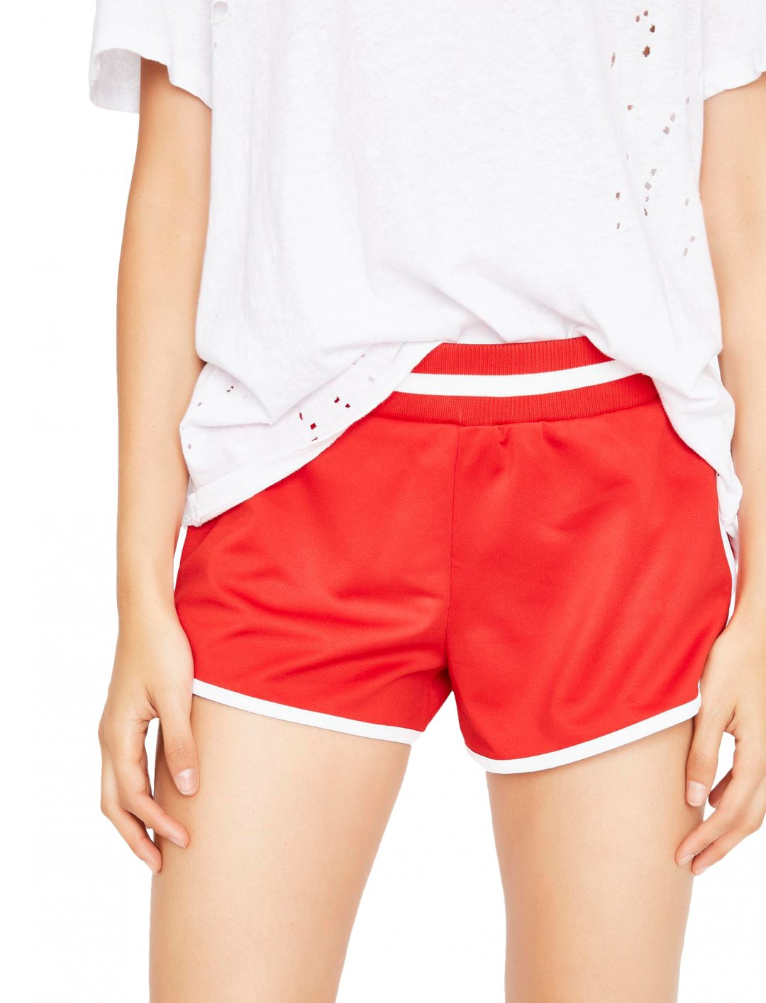 "Red Lounge Shorts {""id"":5,""product_section_id"":1,""name"":""Clothing"",""order"":5} Dolls Kill"