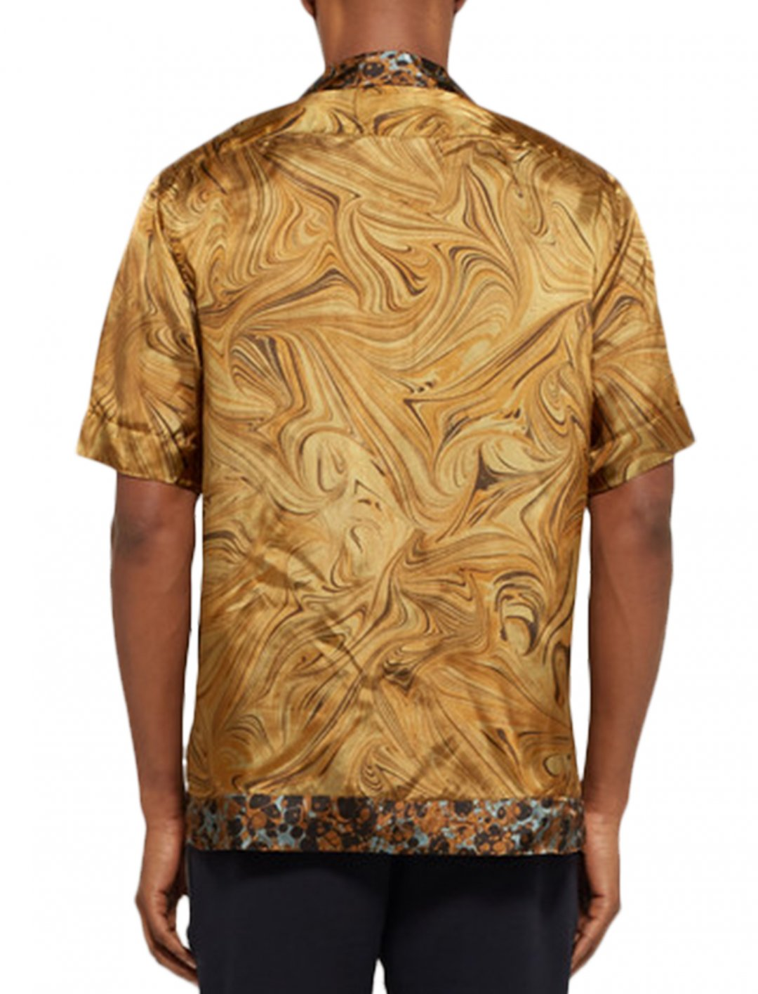 "Sam Smith's Printed Satin Shirt {""id"":5,""product_section_id"":1,""name"":""Clothing"",""order"":5} Dries Van Noten"