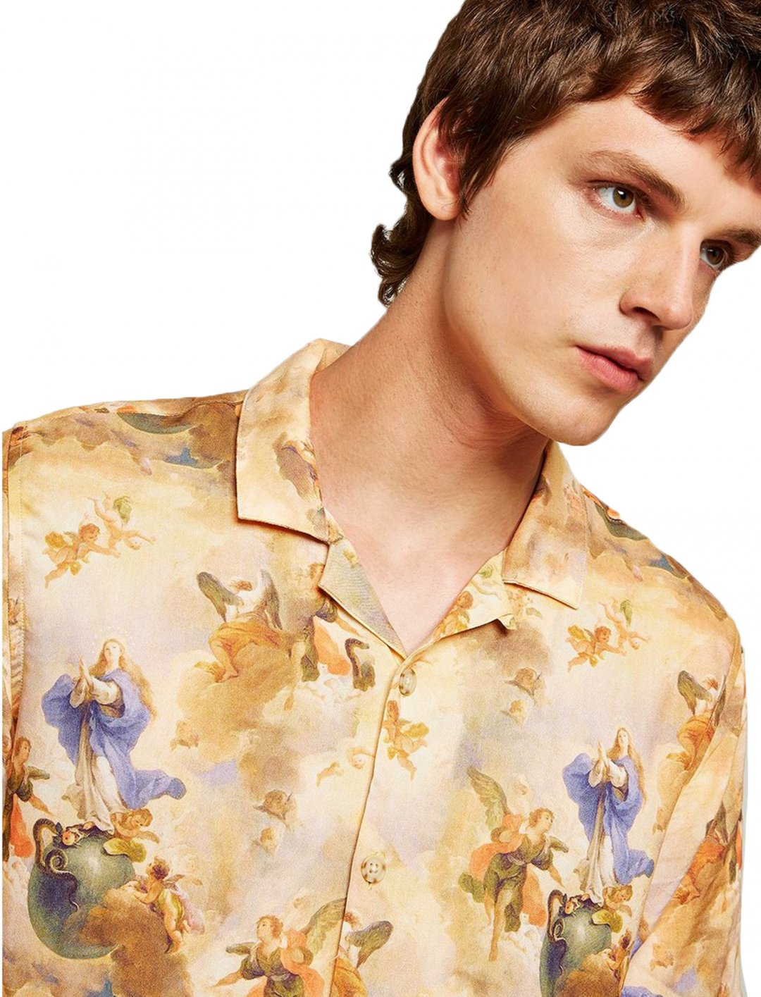 "Short Sleeve Shirt {""id"":5,""product_section_id"":1,""name"":""Clothing"",""order"":5} Topman"
