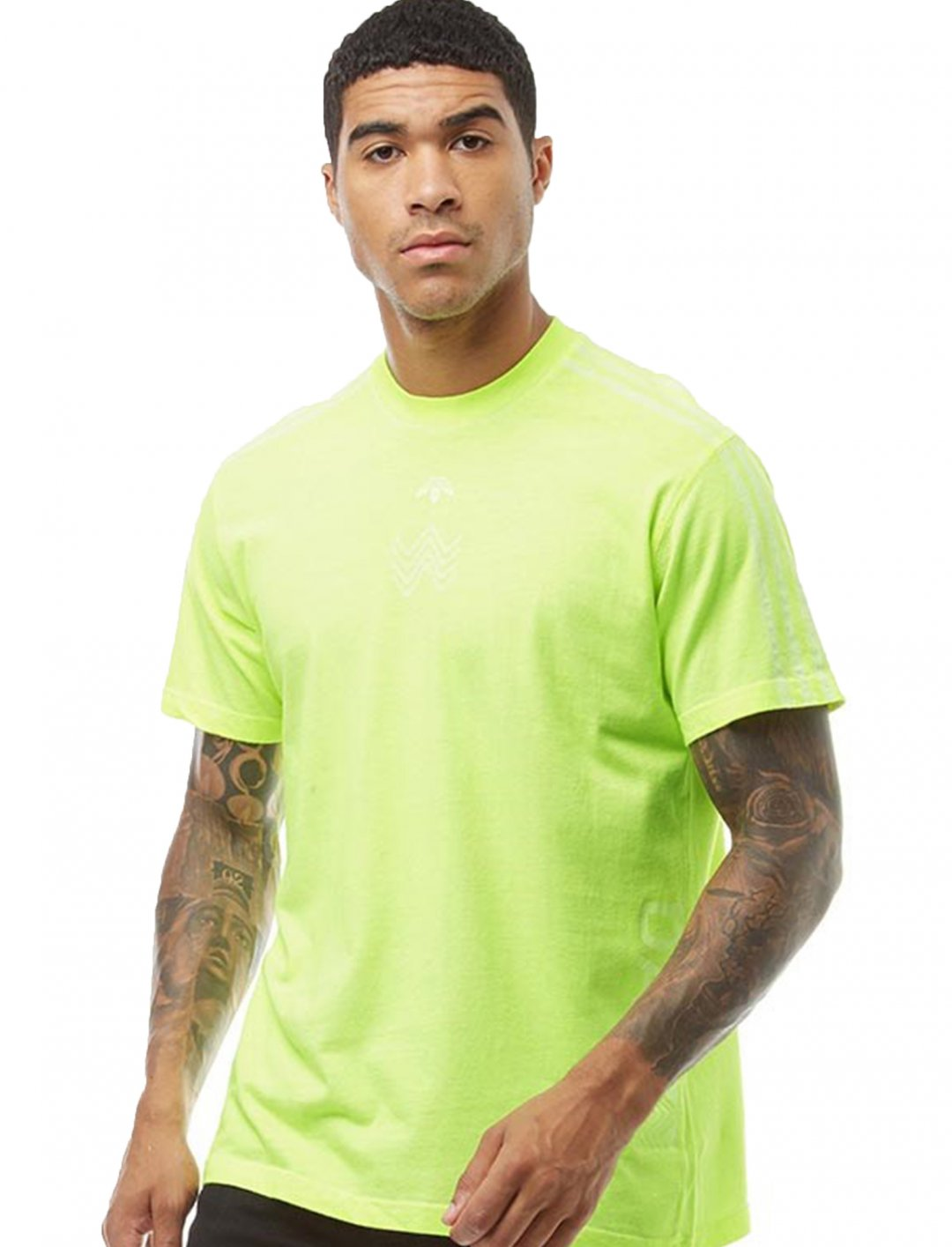 "Solar Yellow T-Shirt {""id"":5,""product_section_id"":1,""name"":""Clothing"",""order"":5} adidas Originals x Alexander Wang"