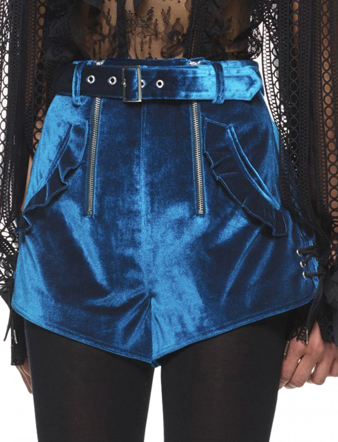 """Camila's Double Zip Shorts {""""id"""":5,""""product_section_id"""":1,""""name"""":""""Clothing"""",""""order"""":5} Self Portrait"""
