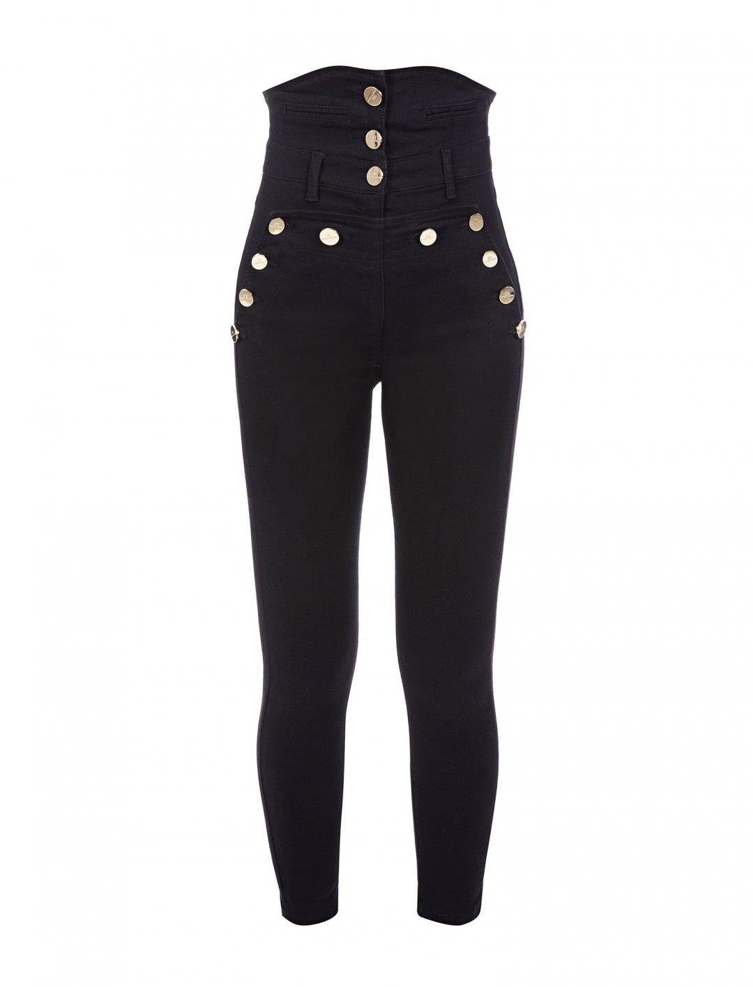 "Camila's High Waist Trousers {""id"":5,""product_section_id"":1,""name"":""Clothing"",""order"":5} Elisabetta Franchi"