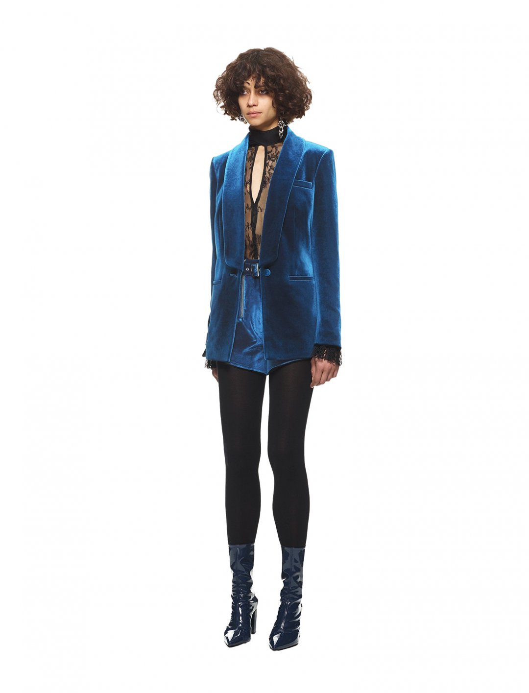 """Camila's Velvet Jacket {""""id"""":5,""""product_section_id"""":1,""""name"""":""""Clothing"""",""""order"""":5} Self Portrait"""