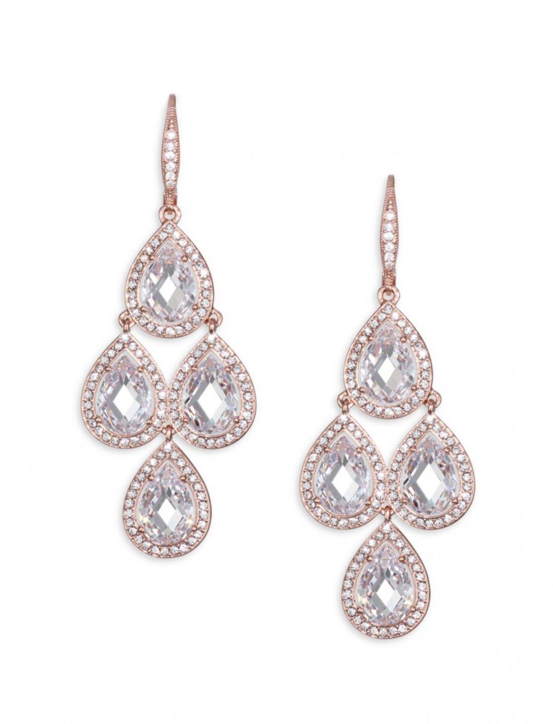 "Chandelier Drop Earrings {""id"":10,""product_section_id"":1,""name"":""Jewellery"",""order"":10} Adriana Orsini"