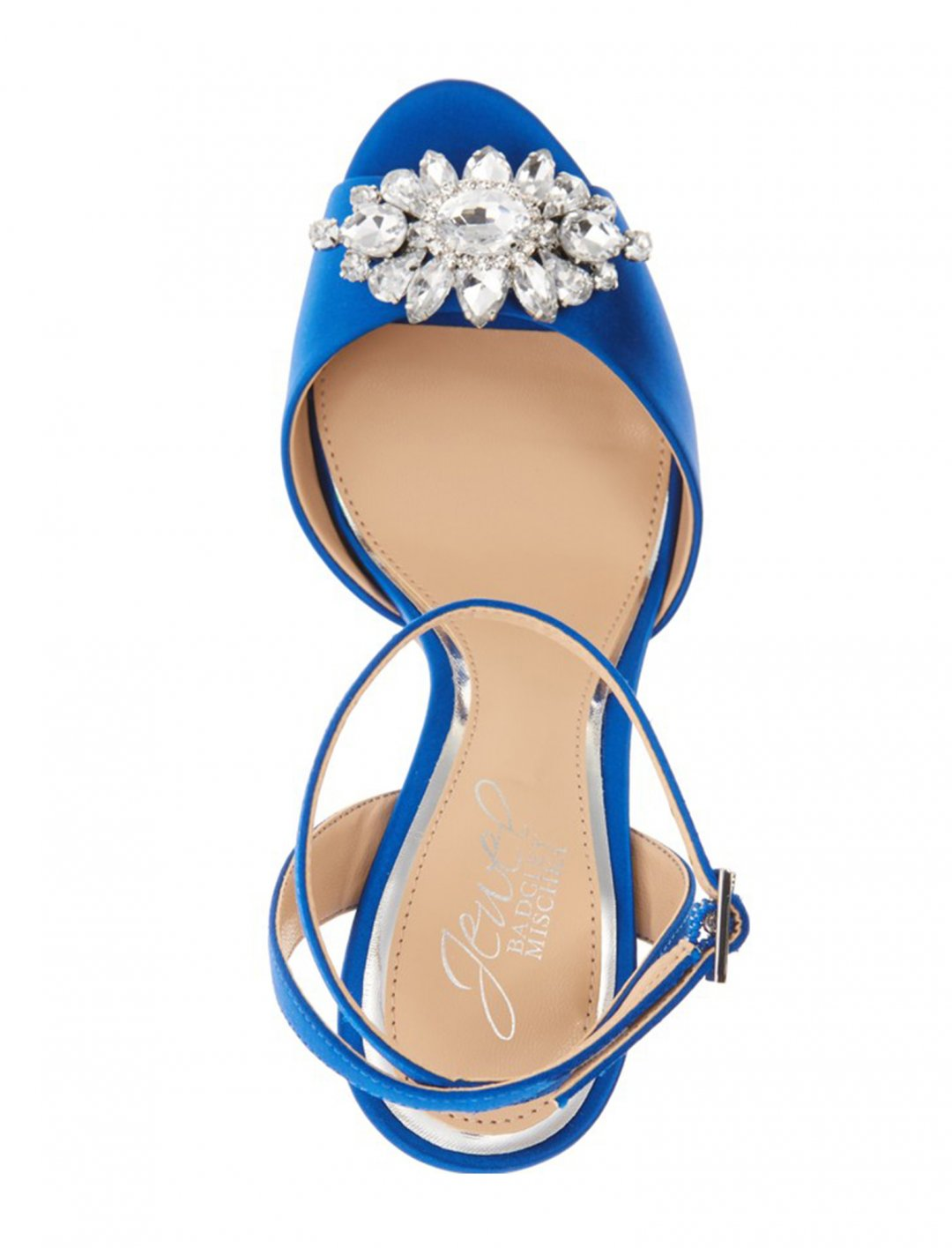 """Jewel Badgley Mischka Ankle Strap Sandal {""""id"""":12,""""product_section_id"""":1,""""name"""":""""Shoes"""",""""order"""":12} Jewel Badgley Mischka"""