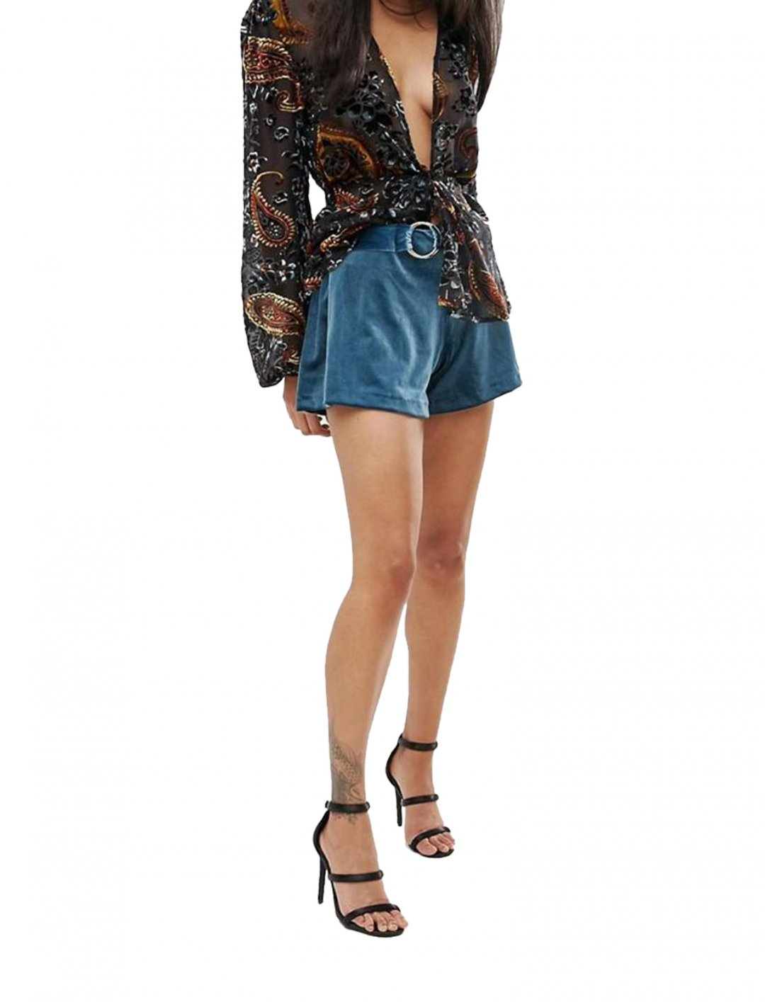 """Mini Velvet Short {""""id"""":5,""""product_section_id"""":1,""""name"""":""""Clothing"""",""""order"""":5} Lioness"""