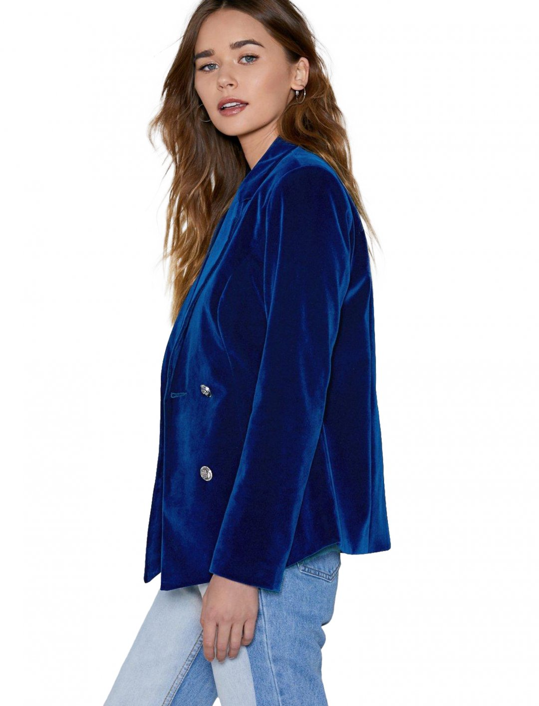 """Nasty Gal Velvet Blazer {""""id"""":5,""""product_section_id"""":1,""""name"""":""""Clothing"""",""""order"""":5} Nasty Gal"""