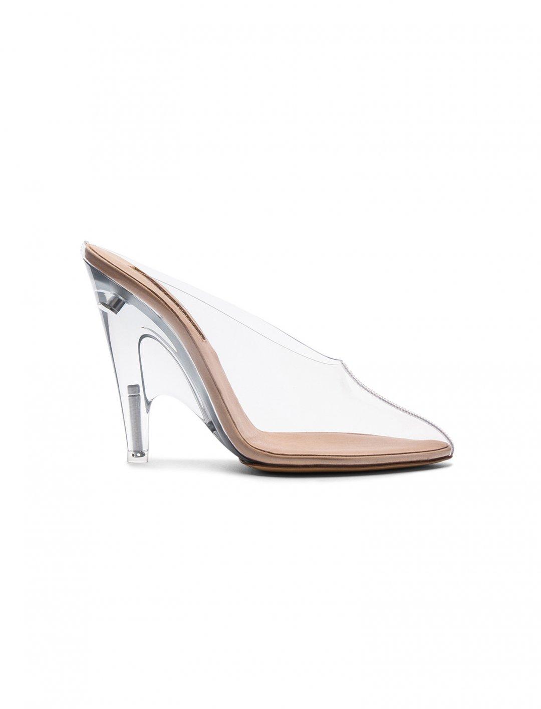 Chritina Aguilera's PVC Mules Shoes Yeezy