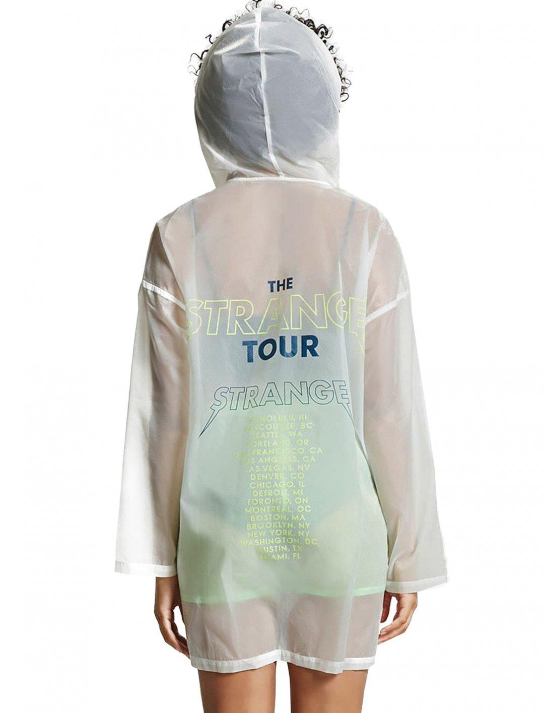 Forever21 Transparent Nylon Jacket Clothing Forever21