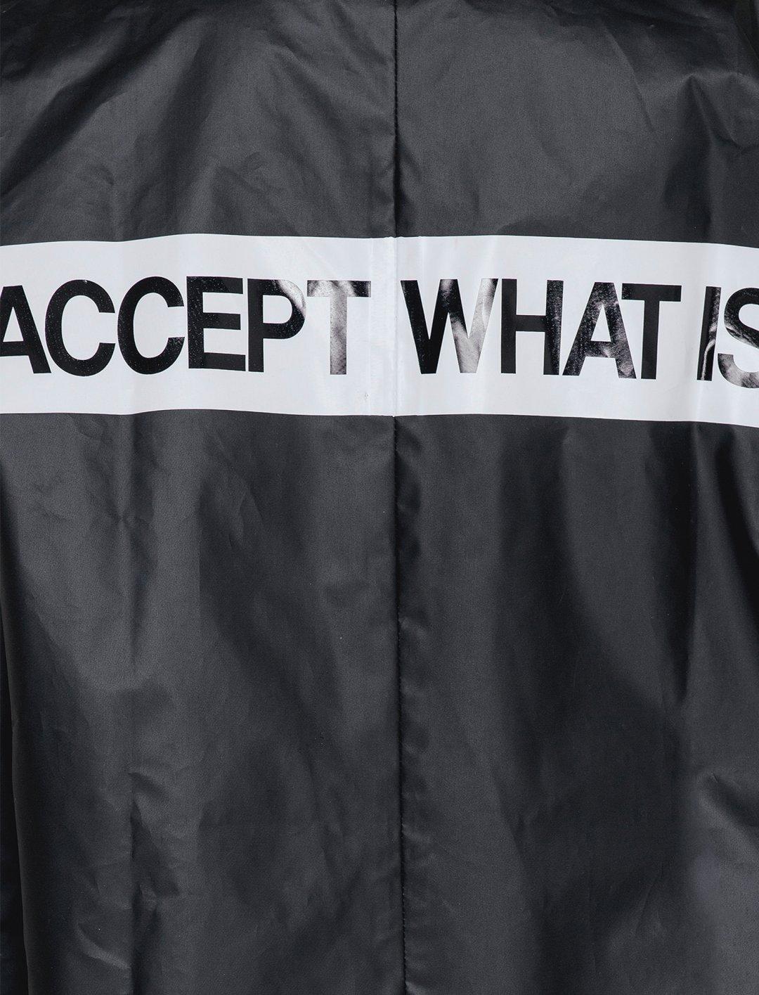 NA-KD Back Print Raincoat Clothing Naked