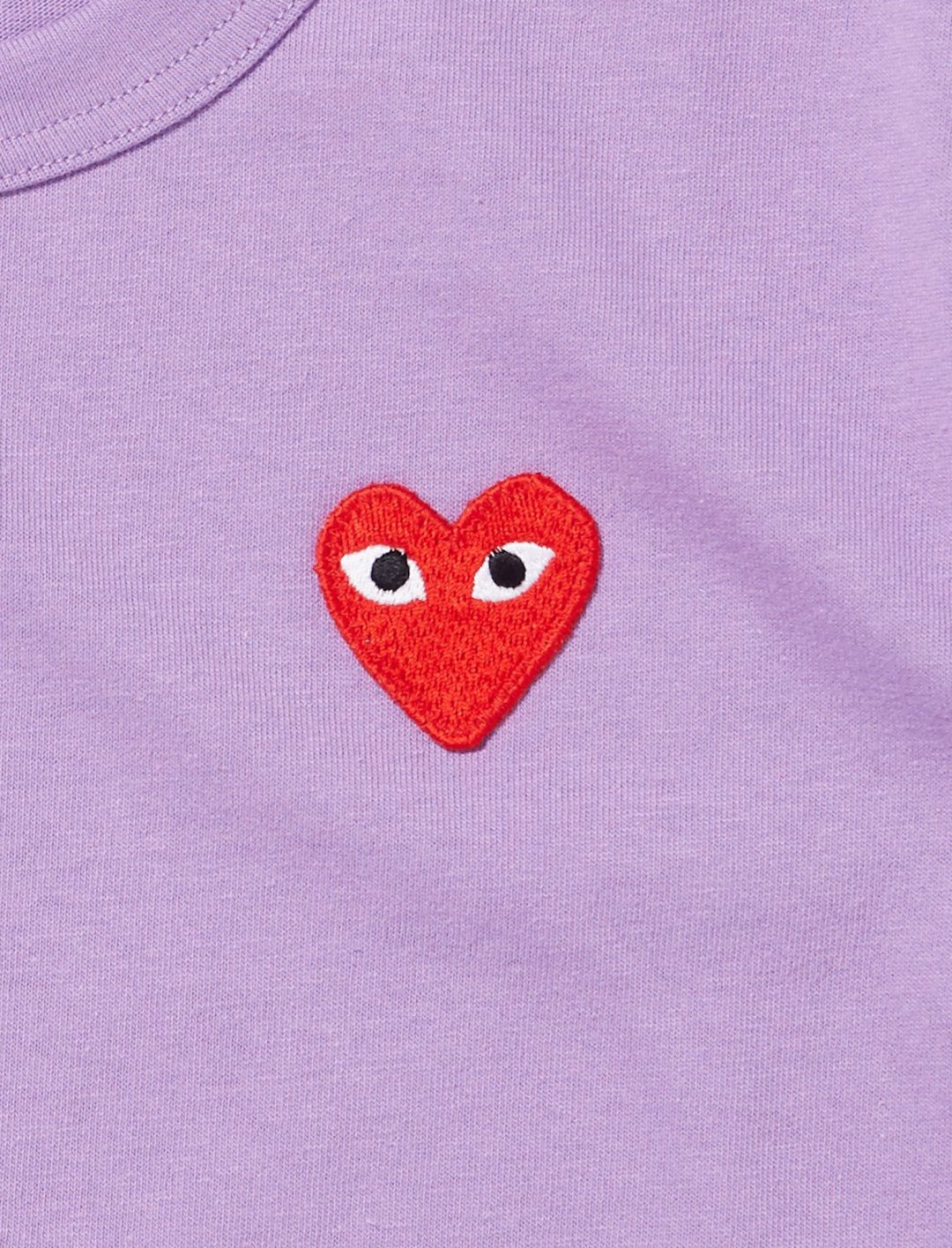 "Chance the Rapper's T-Shirt In Purple {""id"":5,""product_section_id"":1,""name"":""Clothing"",""order"":5} Comme Des Garcons"