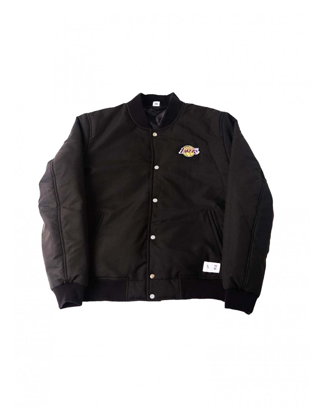 "Justin Bieber's Bomber Jacket {""id"":5,""product_section_id"":1,""name"":""Clothing"",""order"":5} NBA x P/C"