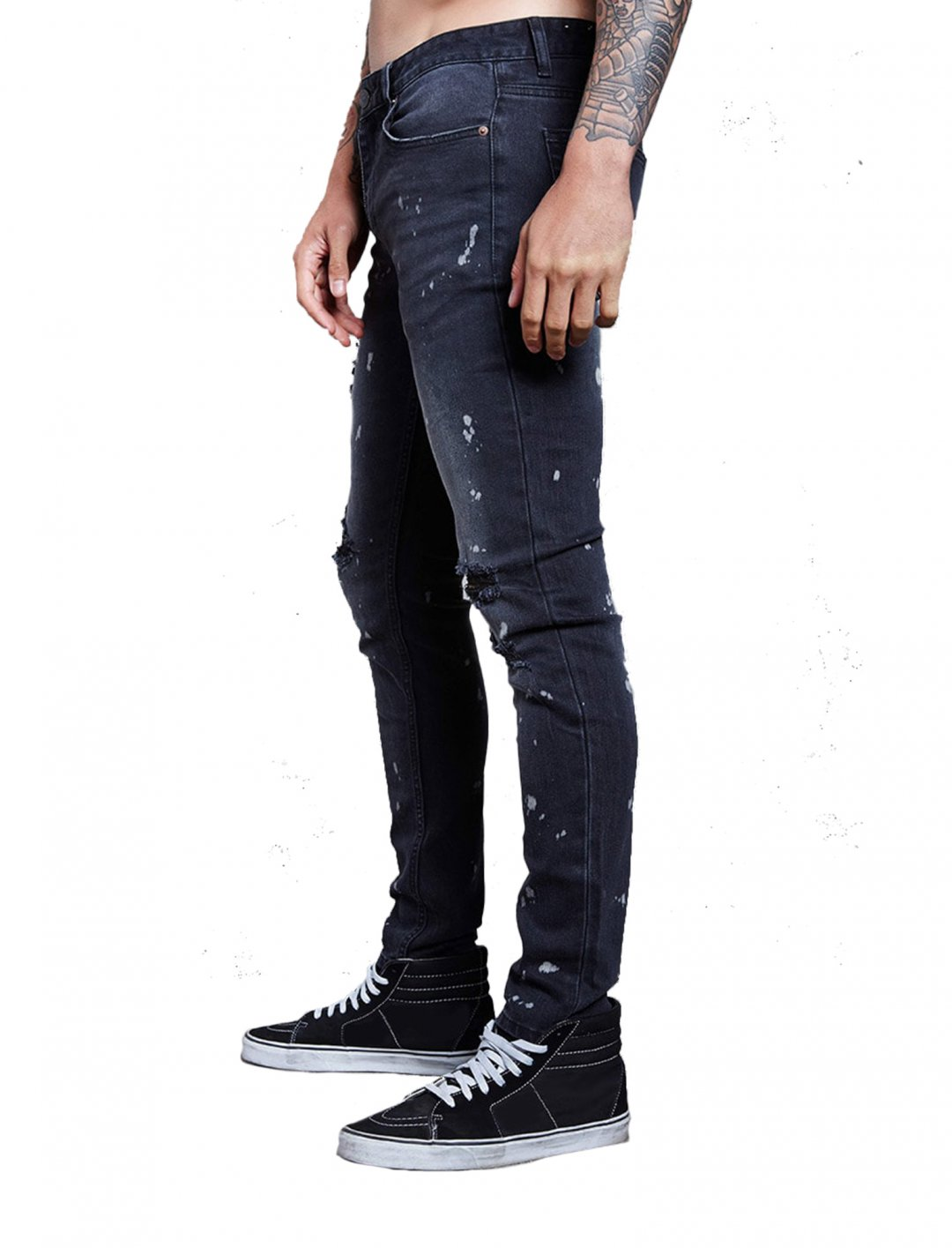 "Forever21 Paint Splatter Jeans {""id"":5,""product_section_id"":1,""name"":""Clothing"",""order"":5} Forever21"