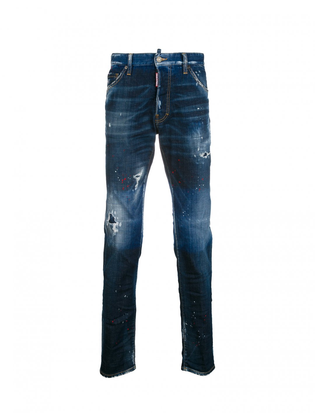 "Lil Pump's Splatter Jeans {""id"":5,""product_section_id"":1,""name"":""Clothing"",""order"":5} Dsquared2"