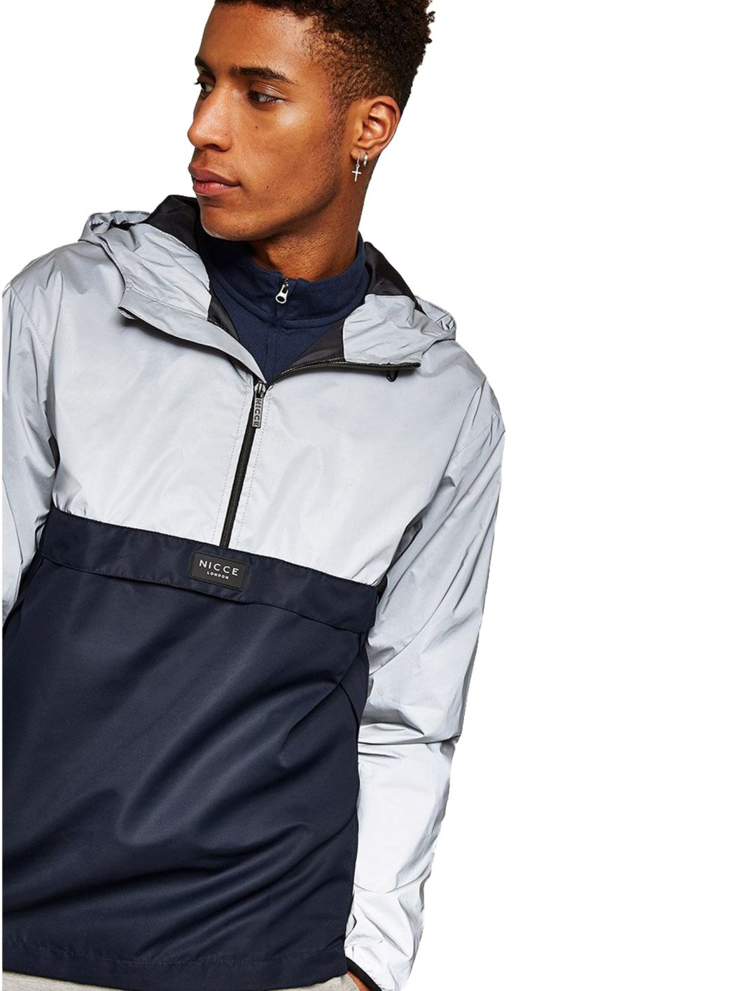 "Nicce 'Void' Cagoule {""id"":5,""product_section_id"":1,""name"":""Clothing"",""order"":5} Nicce"