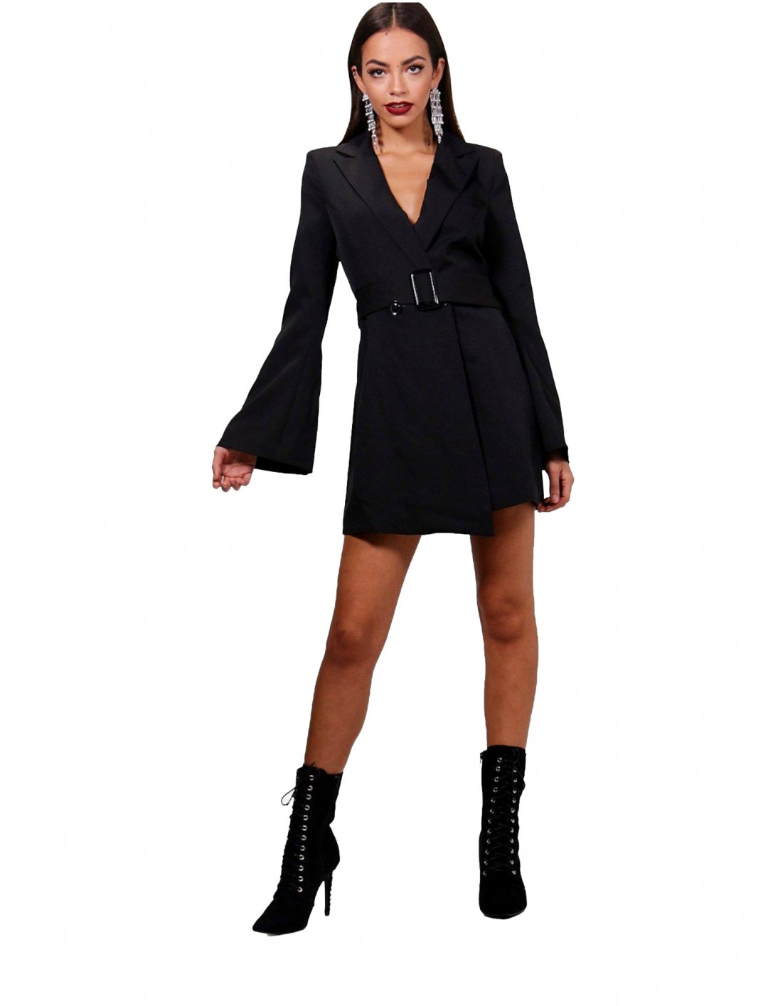 """Boohoo Belted Blazer Dress {""""id"""":5,""""product_section_id"""":1,""""name"""":""""Clothing"""",""""order"""":5} Boohoo"""