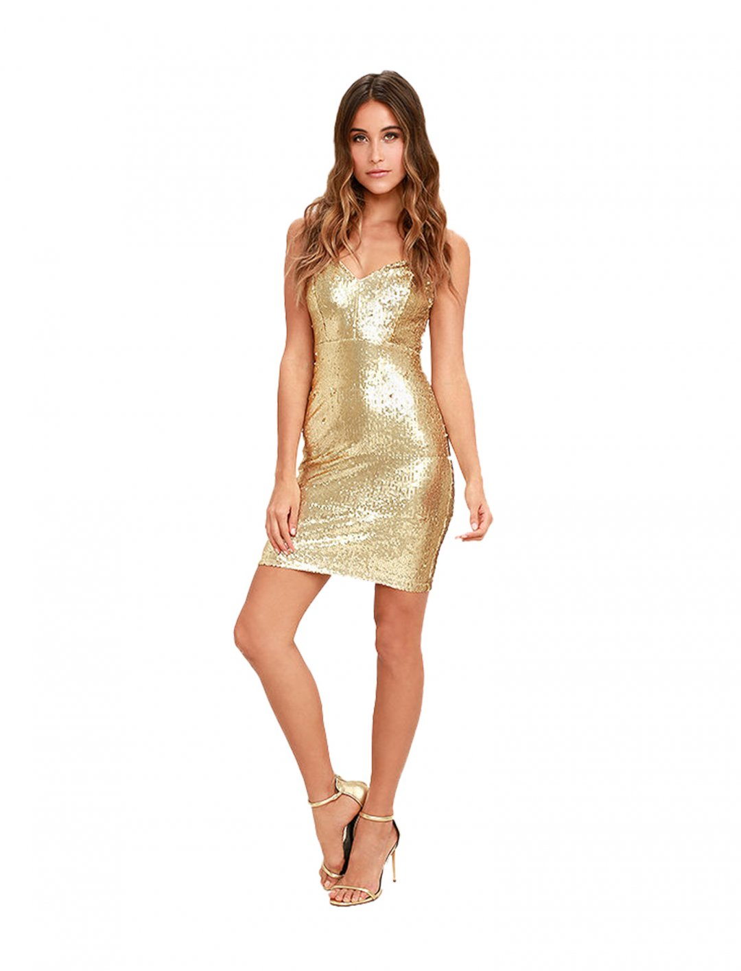 """Lulus Gold Dress {""""id"""":5,""""product_section_id"""":1,""""name"""":""""Clothing"""",""""order"""":5} Lulus"""