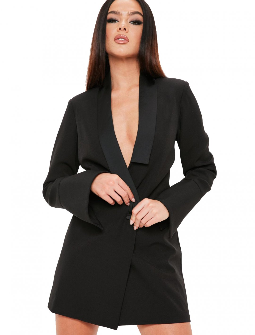 """Madison Beer x Missguided Blazer Dress {""""id"""":5,""""product_section_id"""":1,""""name"""":""""Clothing"""",""""order"""":5} Madison Beer x Missguided"""