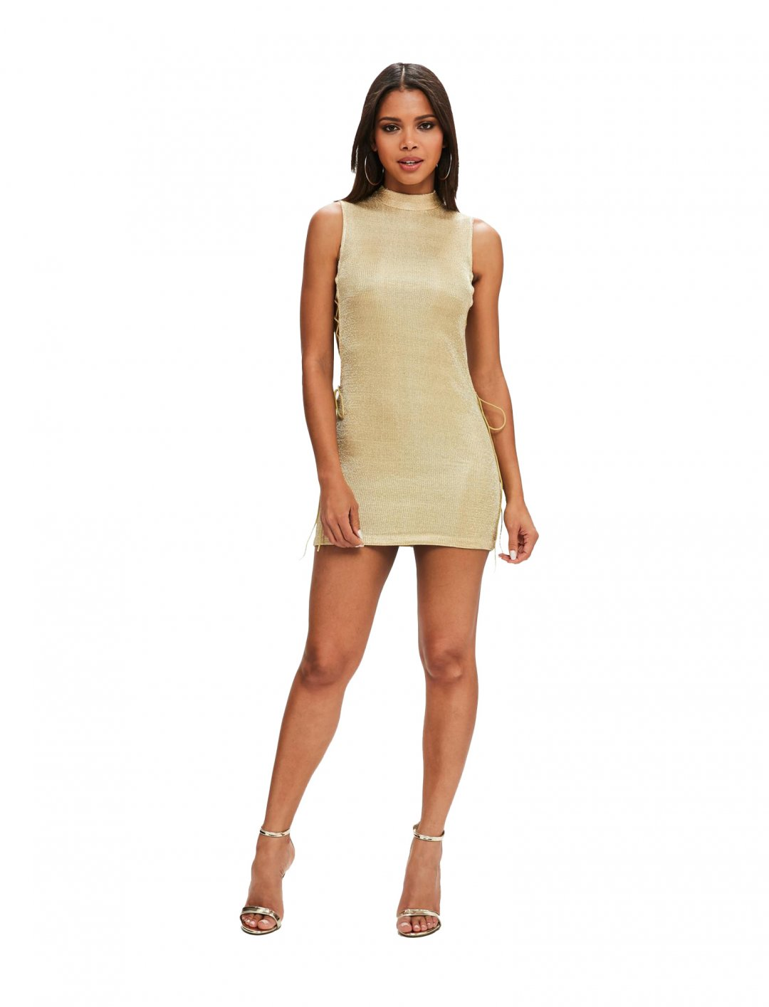 """Missguided Bodycon Lace Up Dress {""""id"""":5,""""product_section_id"""":1,""""name"""":""""Clothing"""",""""order"""":5} Missguided"""
