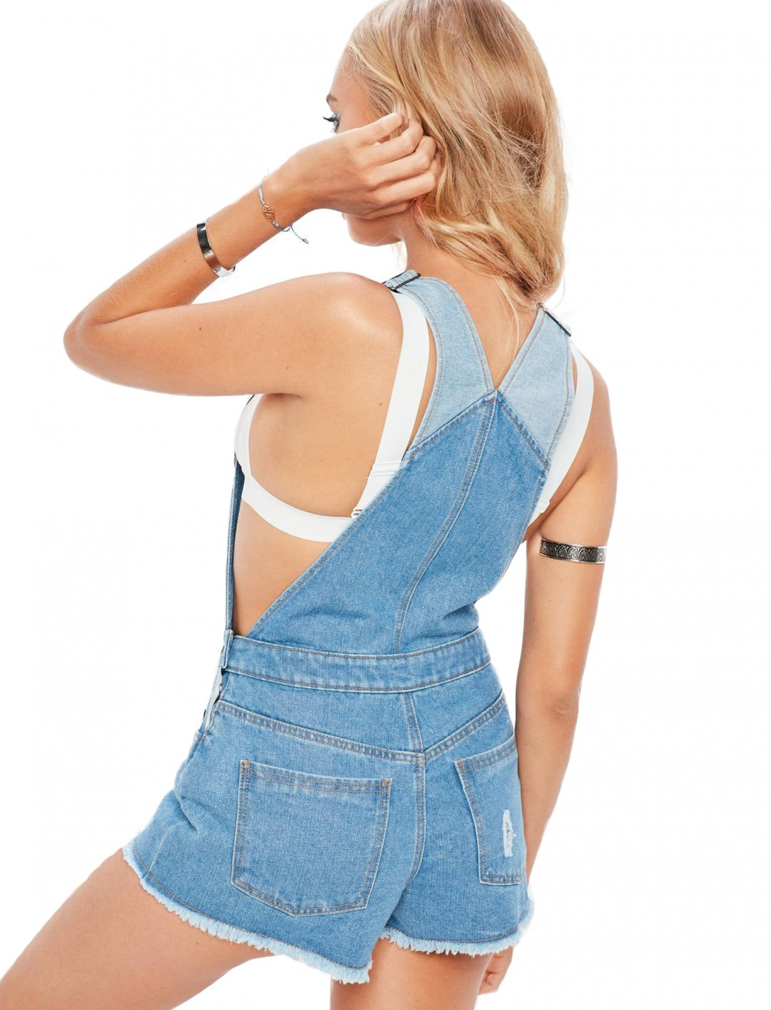"""Missguided Denim Dungarees {""""id"""":5,""""product_section_id"""":1,""""name"""":""""Clothing"""",""""order"""":5} Missguided"""
