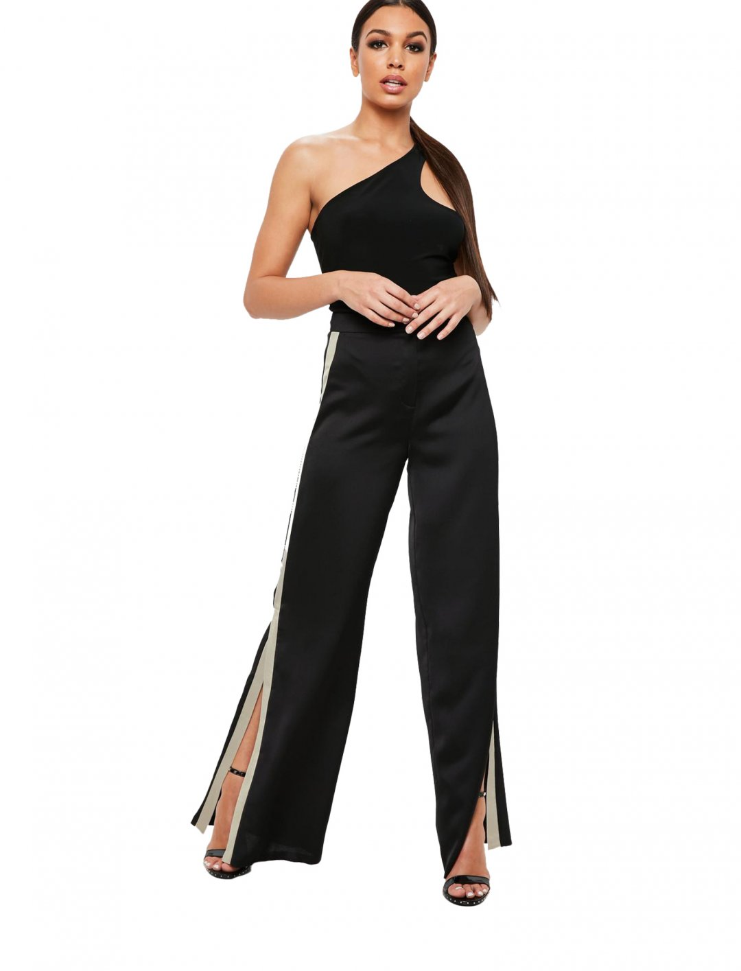 Missguided Split Trousers Clothing Missguided