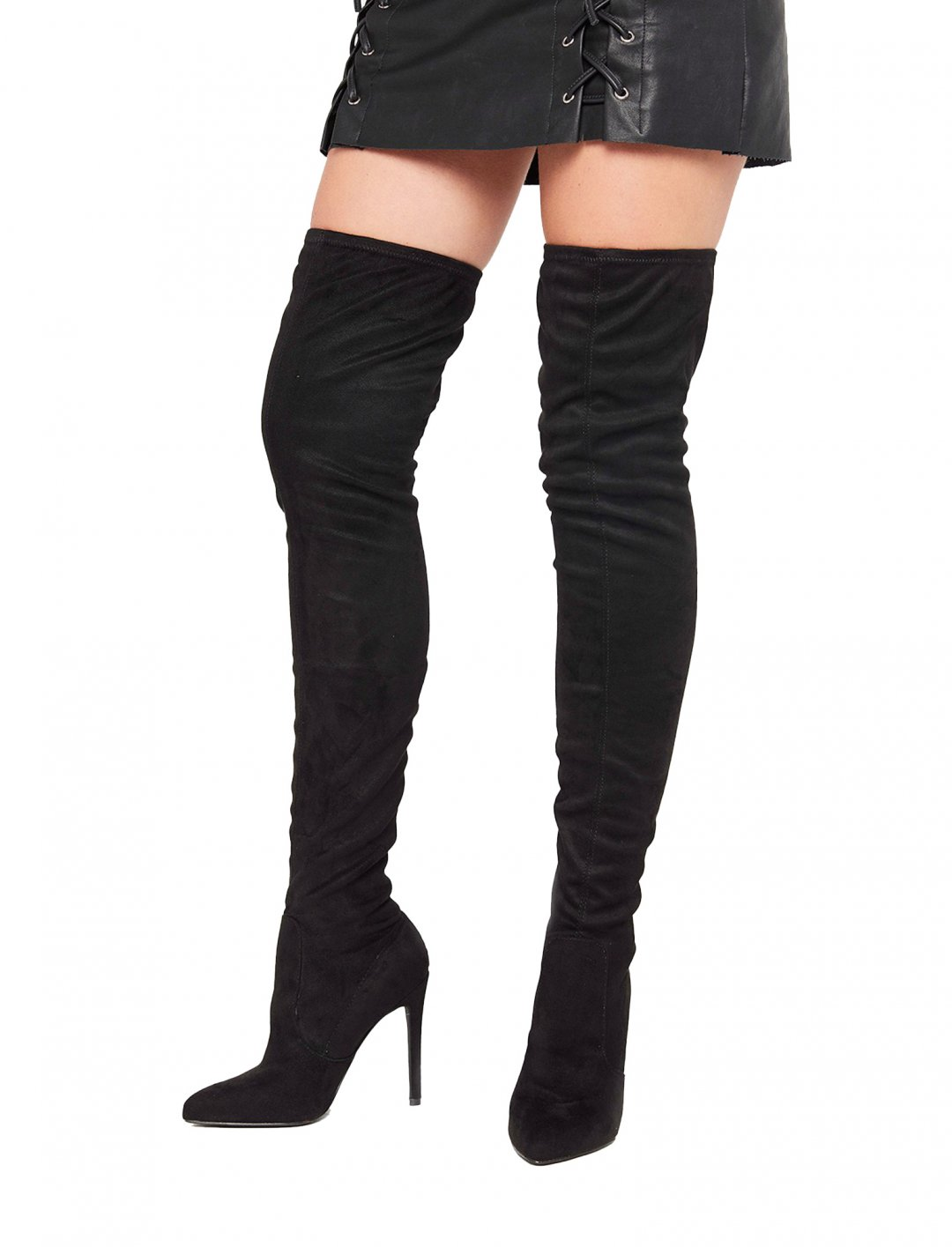 """Misspap Over The Knee Boots {""""id"""":12,""""product_section_id"""":1,""""name"""":""""Shoes"""",""""order"""":12} Misspap"""